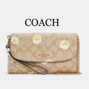 COACH Gemma Clutch Crossbody In Signature Canvas
